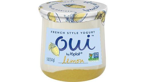 Picture of Yoplait Oui Yogurt French Style Lemon