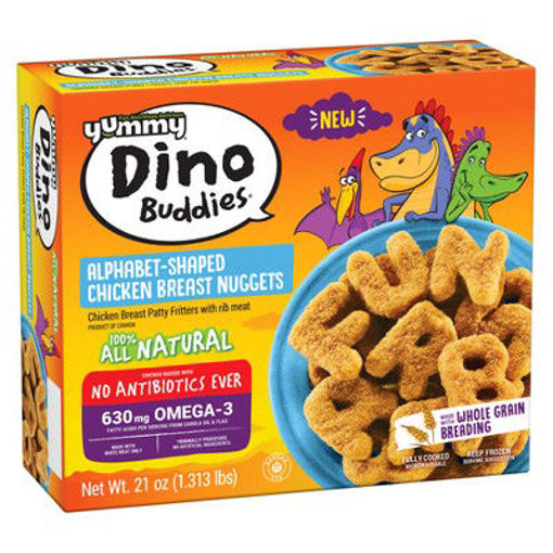 Picture of Yummy Dinosaur Chicken Breast Nuggets