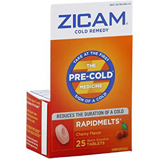 Picture of Zicam Cold Remedy RapidMelts Quick Dissolve Tablets Cherry Flavor