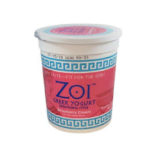Picture of Zoi Greek Yogurt Strawberry Cream
