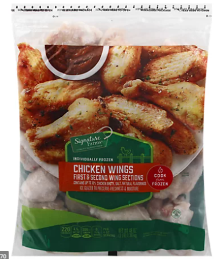 Picture of Signature Farms Chicken Wings Fresh