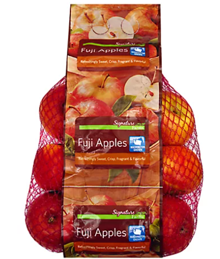 Picture of Signature Farms Fuji Apples Prepackaged