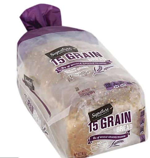 Picture of Signature SELECT Bread 15 Grain