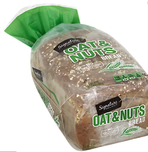 Picture of Signature SELECT Bread Enriched Oat & Nuts