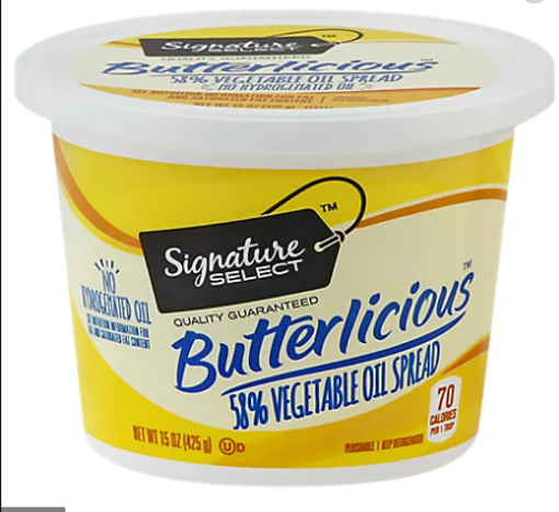 Picture of Signature SELECT Butterlicious Spread 58% Vegetable Oil