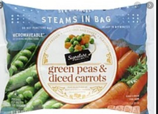 Picture of Signature SELECT Peas Green & Diced Carrots