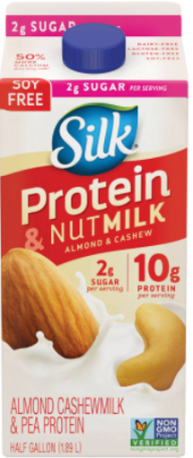 Picture of Silk Nutmilk Almond & Cashew Original Protein