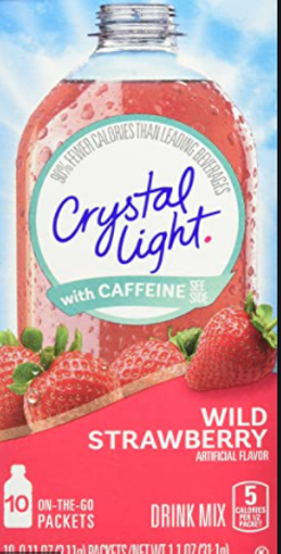 Picture of Signature Select Drink Mix Wild Strawberry W/Caffeine