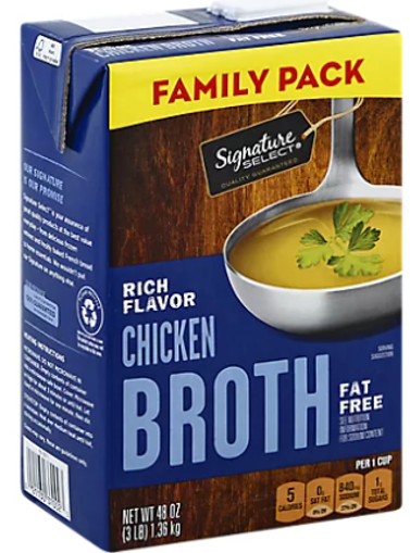 Picture of Signature SELECT Broth Chicken Value Size