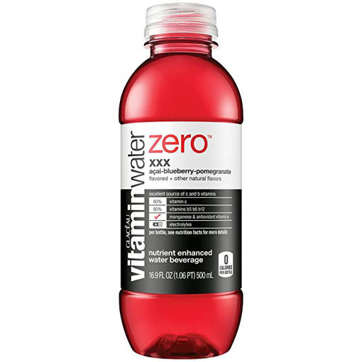 Picture of vitaminwater Zero Water Beverage Nutrient Enhanced XXX Acai Blueberry Pomegranate