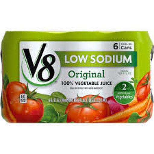 Picture of V8 Vegetable Juice Low Sodium Original