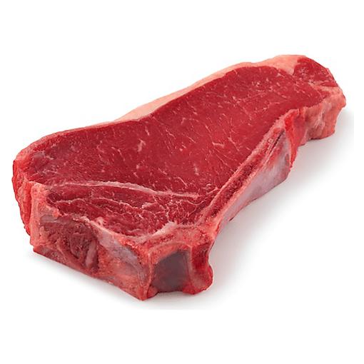 Picture of USDA Choice Beef Top Loin New York Thin Strip Steak Bone In