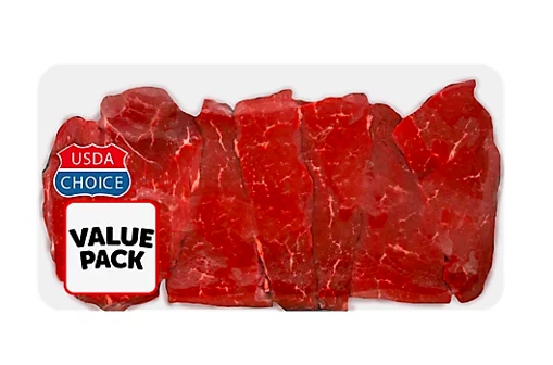 Picture of USDA Choice Beef Sirloin Petite Steak Extreme Value Pack
