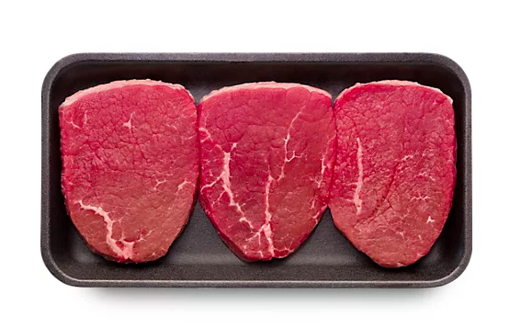 Picture of USDA Choice Beef Eye Of Round Thin Cut Steak