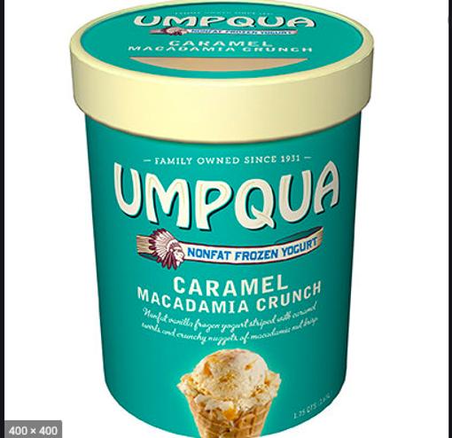 Picture of Umpqua Caramel Macadamia Frozen Yogurt Crunch