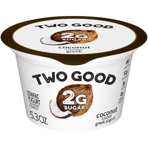 Picture of Two Good Light N Fit Coconut Greek Yogurt