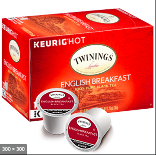 Picture of Twinings of London Black Tea K-Cup Pods English Breakfast