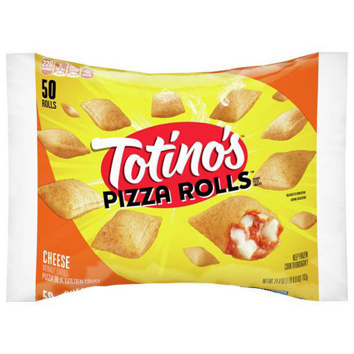 Picture of Totinos Pizza Rolls Cheese 50 Count