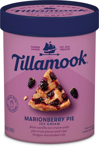 Picture of Tillamook Marionberry Pie Ice Cream