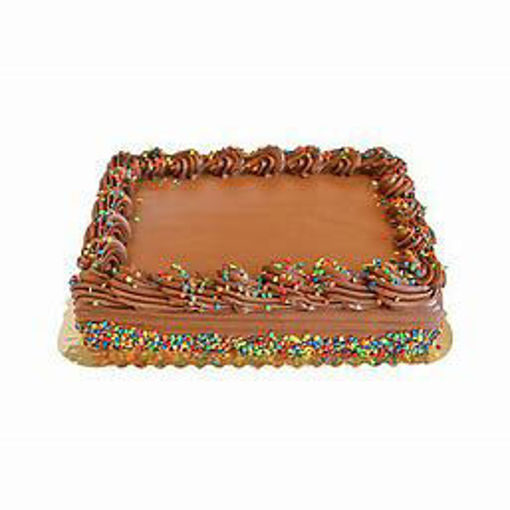 Picture of Bakery Cake 1/4 Sheet Chocolate Enrobed