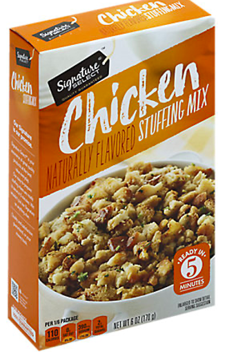 Picture of Signature SELECT Stuffing Mix Chicken Flavored Box