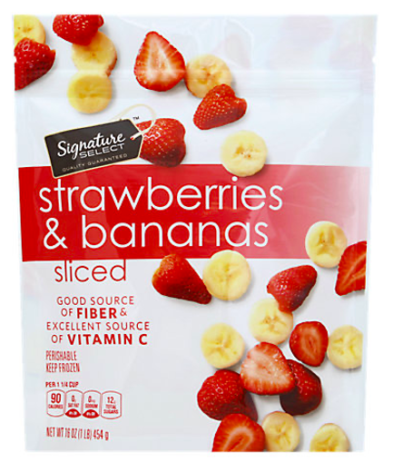 Picture of Signature SELECT Strawberries & Bananas Sliced