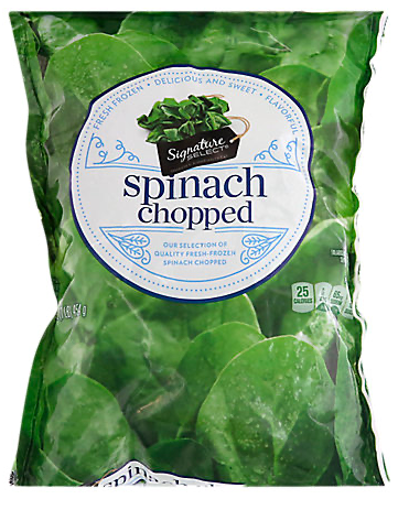 Picture of Signature SELECT Spinach Chopped