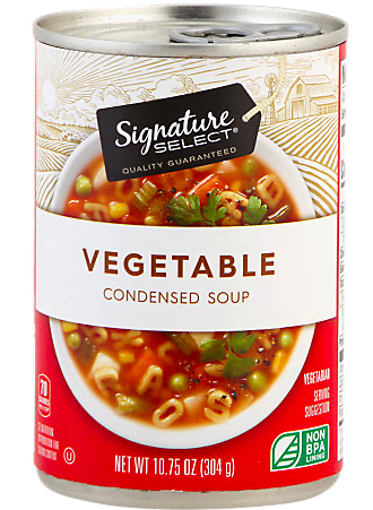 Picture of Signature Select Soup Condensed Vegetable