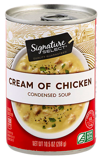Picture of Signature SELECT Soup Condensed Cream of Chicken