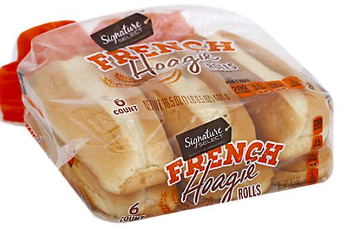 Picture of Signature SELECT Rolls Hoagie Parisian Style French