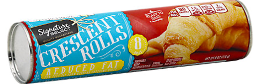 Picture of Signature SELECT Rolls Crescent Reduced Fat 8 Count