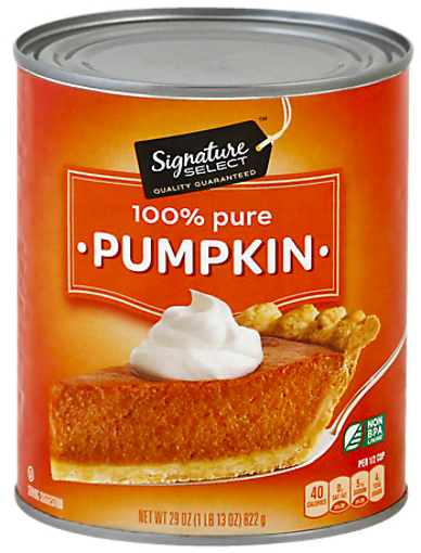 Picture of Signature SELECT Pumpkin 100% Pure